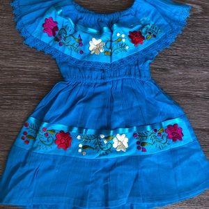 Mexican Baby Dress/ vestido Mexicano 0T